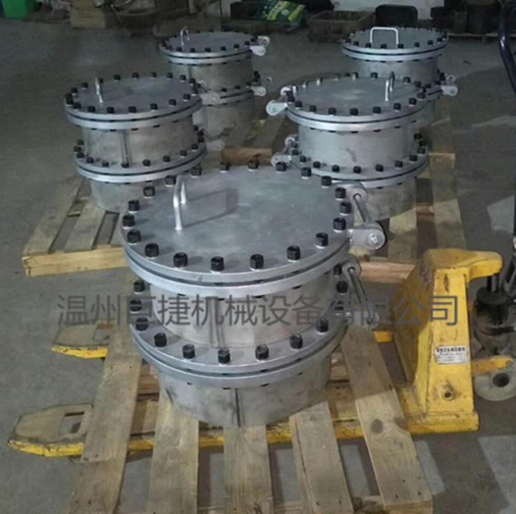 YAA不锈钢卫生级水箱人孔、水箱人孔盖、316带劲人孔