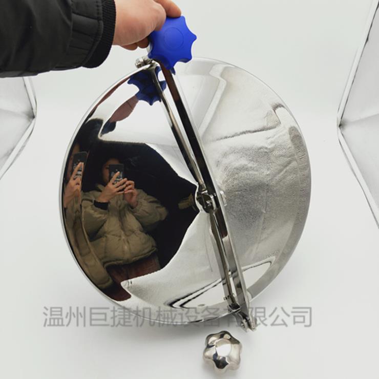 卫生级人孔_巨捷圆形人孔、卫生级圆形耐压人孔、快开人孔