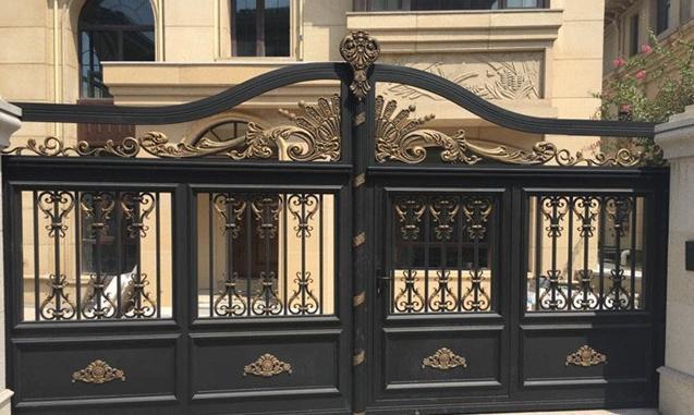 别墅装饰铝艺庭院时尚大门