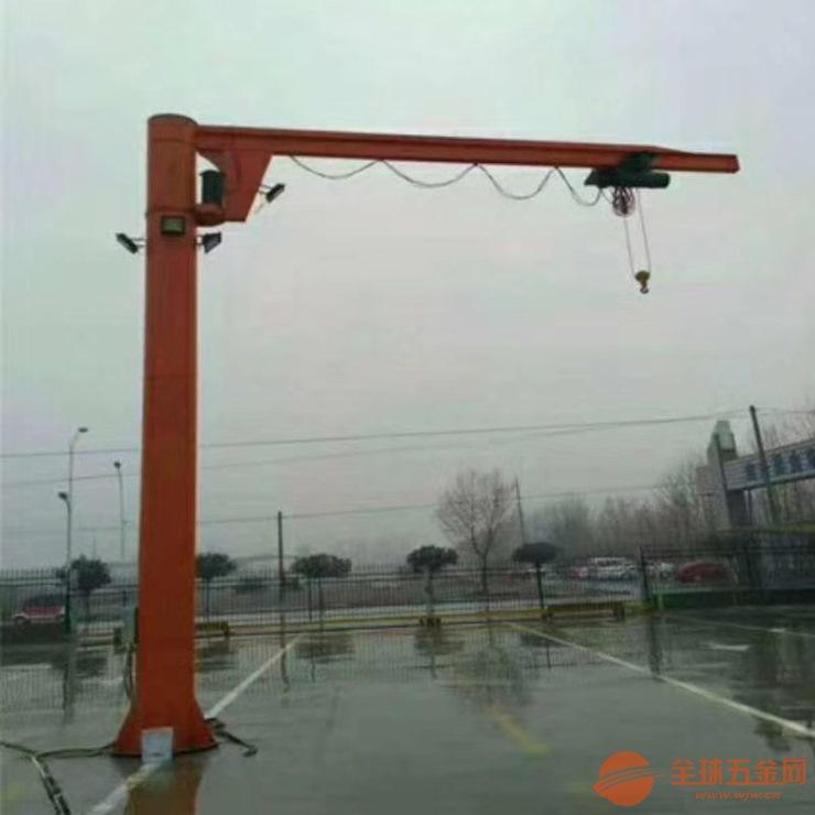 成都5吨室外单轨悬臂吊价格多少