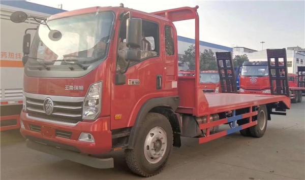 15吨到18吨东风福瑞卡挖机拖车
