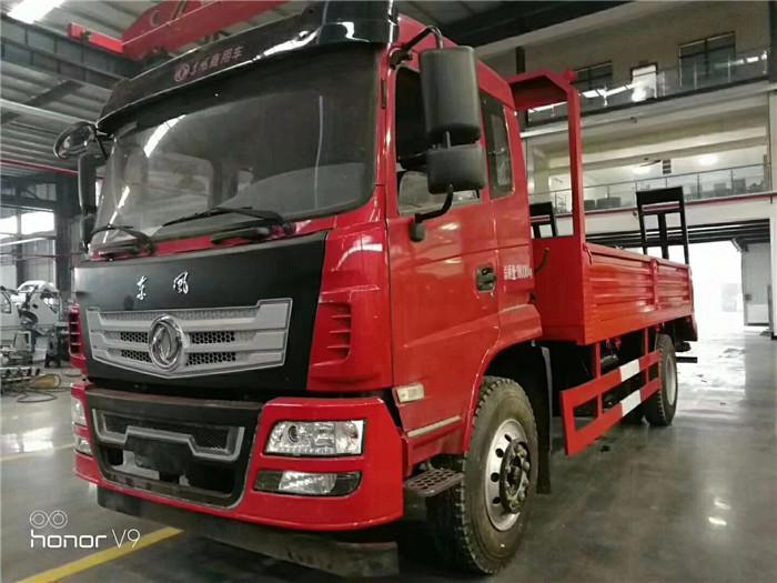 15吨东风D912挖机平板车