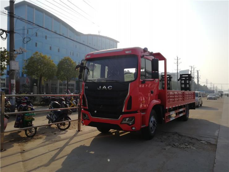 15吨到18吨成都大运挖机平板拖车