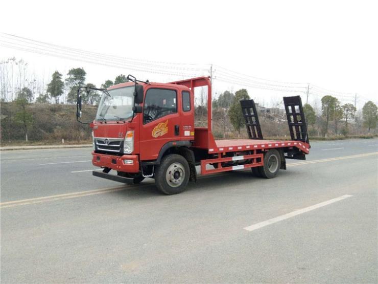 15吨江淮K5挖机平板运输车