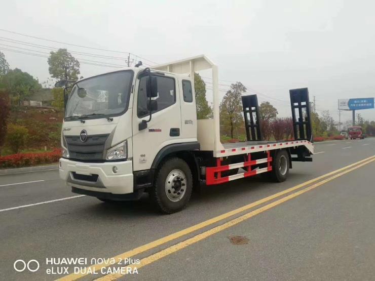 18吨东风华神挖机平板车
