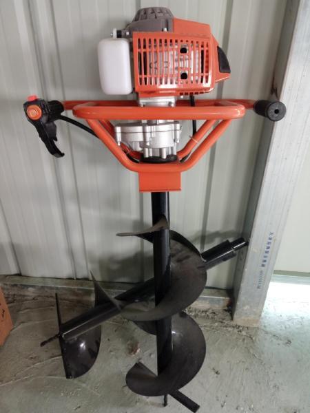 專業生產多用途好用手提挖坑機_園林拖拉機挖坑機