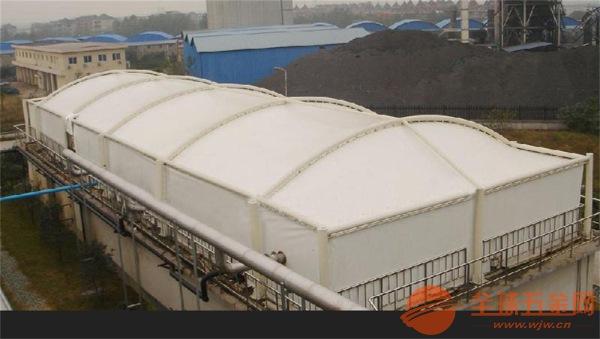污水厂防臭膜结构