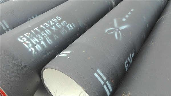 南充阆中dn150消防用球墨铸铁管厂家