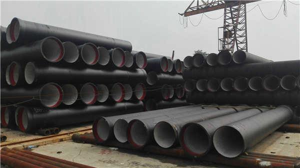 通化东昌区dn1400K7球墨铸铁管喷塑加工生产