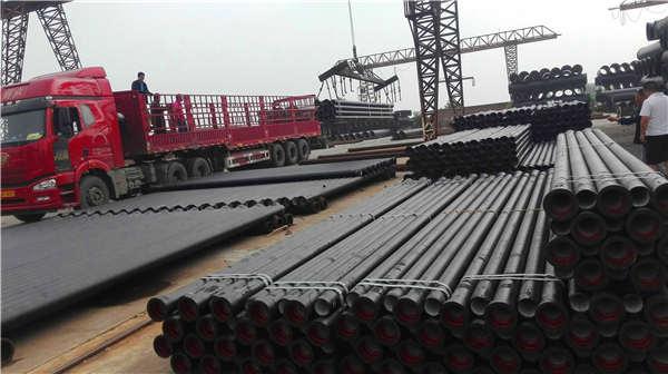 昆明嵩明县dn900K8铸铁管喷塑加工生产