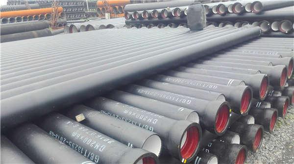 七臺河勃利縣dn50016公斤球墨鑄鐵管噴塑加工生產