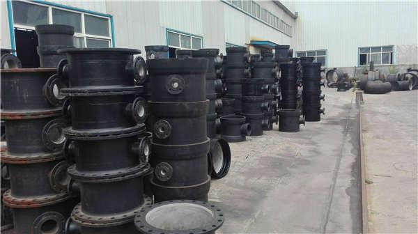 长春宽城区dn1600 无压力球墨铸铁管喷塑加工生产