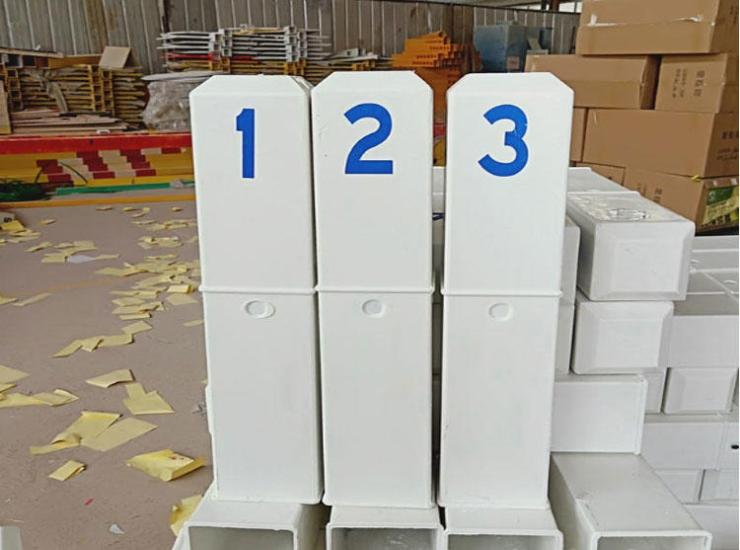 衡阳公路管理局玻璃钢里程碑@玻璃钢百米桩厂家直销