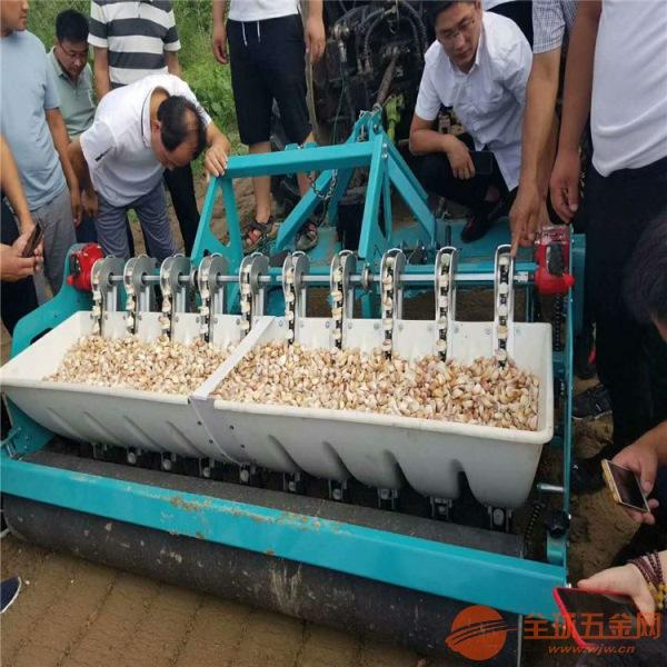 武威 节省人工种蒜机 拖拉机八行大蒜种植机