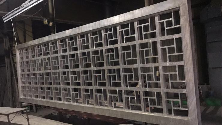 滁州仿古鋁窗花板設計