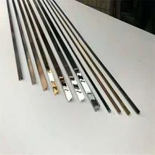 不锈钢T型条5*10mm黑钛门缝夹条厂家现货