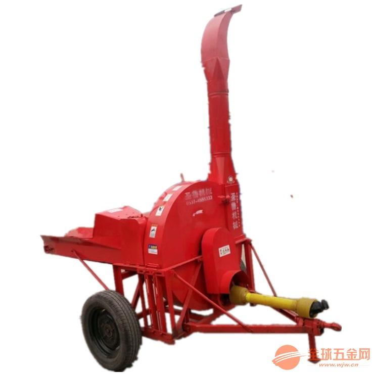 自动进料小型家用铡草机 青贮秸秆铡草机生产厂家