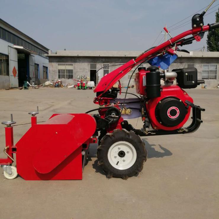 源头厂家直供大马力柴油杂草碎草机 自走式柴油灭草机