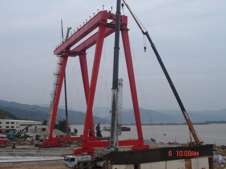 【@报道】-曲江轨道式龙门吊3吨龙门吊维修性能优越