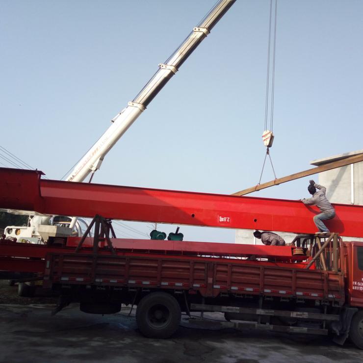 收购二手√120T造船门式起重机开平