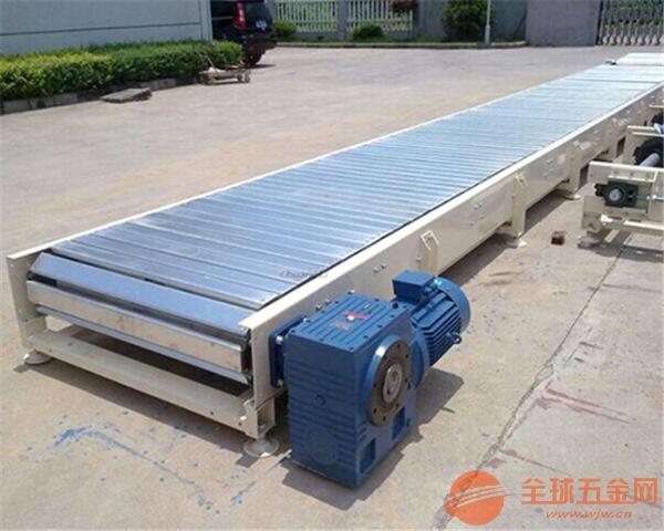 链板输送机品牌耐高温垃圾回收链板输送机
