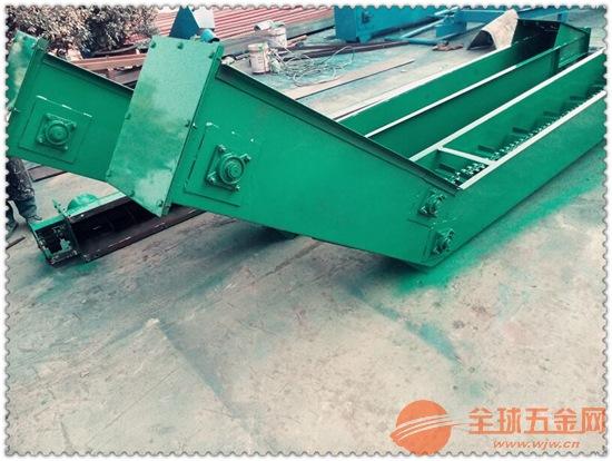 污泥刮板输送机品牌好自清式刮板输送机