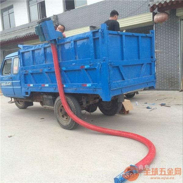 新型软管吸粮机移动式粮仓装车设备