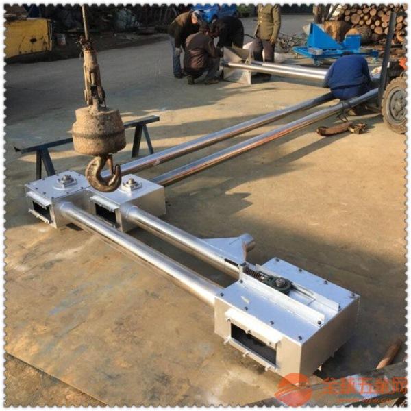 無塵密封粉體管鏈輸送機 多點進料管鏈輸送機78
