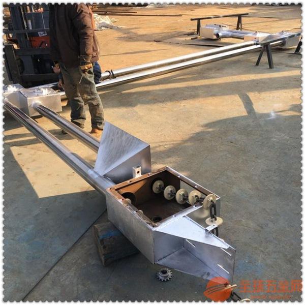 管链机刮板知名管道式链条输送机