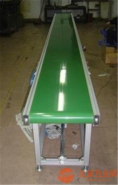 绿色光滑带运输机防油耐腐美观上料机