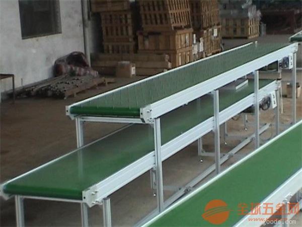 铝材爬坡输送机耐高温组装流水线