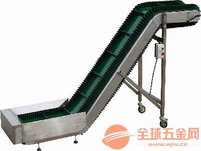 衡阳防滑爬坡挡边输送机 卸车运输机定制