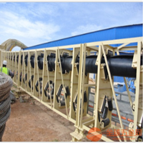 齐齐哈尔圆管带式输送机 现双向物料输送绿色环保