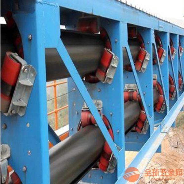 圆管带式输送机新型带式输送机多用途