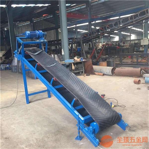 移动装沙专用带式输送机耐高温耐磨防滑式散沙子输送机
