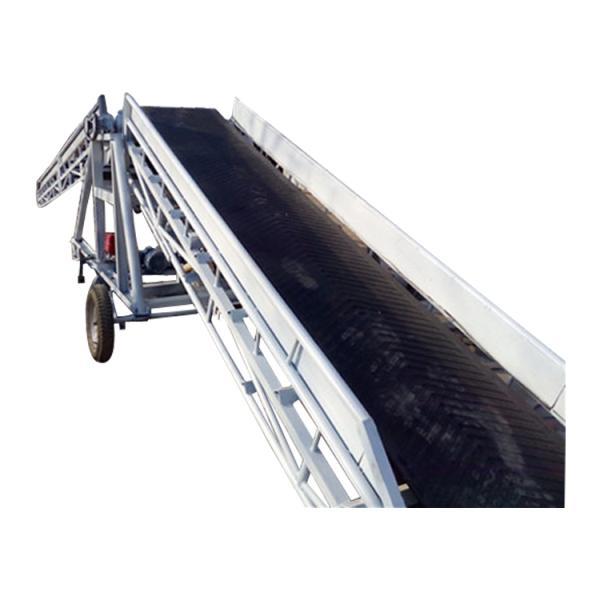 兗州多層耐磨輸送機帶移動輪qc