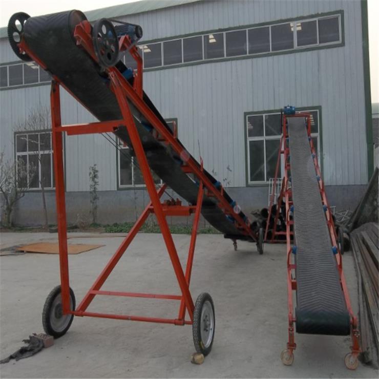 圆管带式运输机带料仓皮带运输机qc