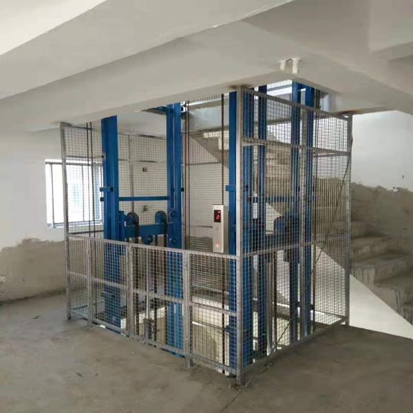 无锡3吨导轨式液压升降货梯