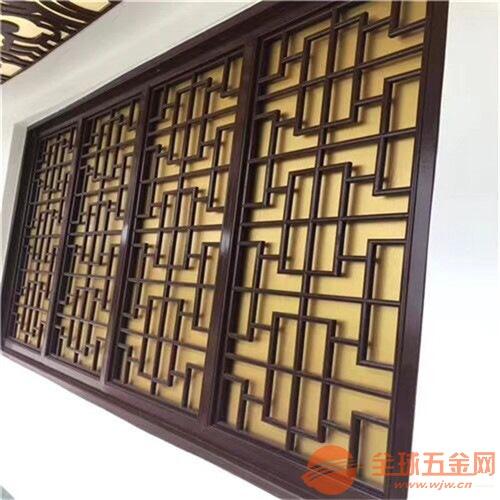广东清远市木纹铝屏风木纹铝挂落质量保证