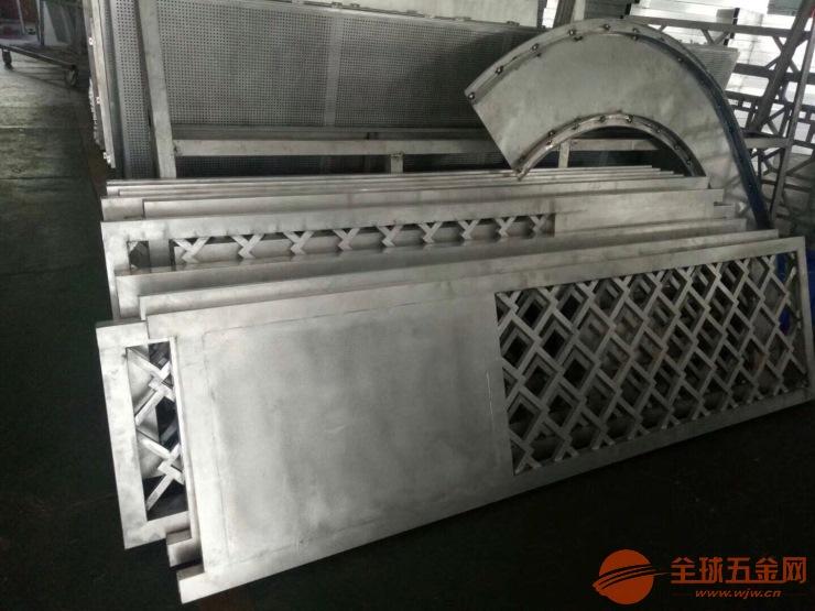 湖北荆州市艺术镂空铝屏风 复古铝窗花厂价直销
