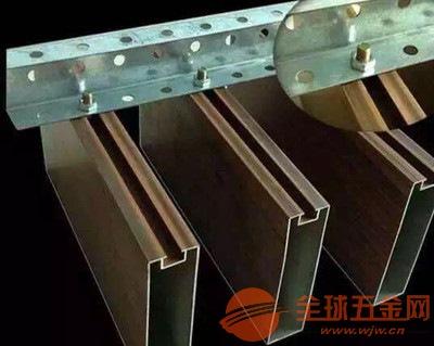 吊顶弧形铝方通 铝方通生产厂家