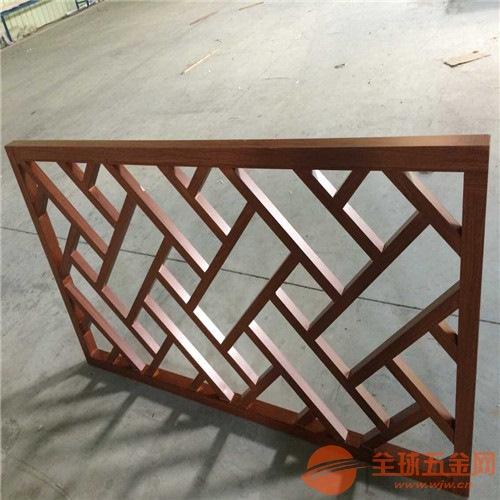 装饰应用铝合金铝窗花生产厂家