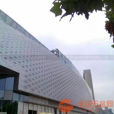 岳阳市岳阳市时尚音乐餐吧冲孔铝单板