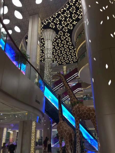 江西南昌酒店白色包柱铝单板