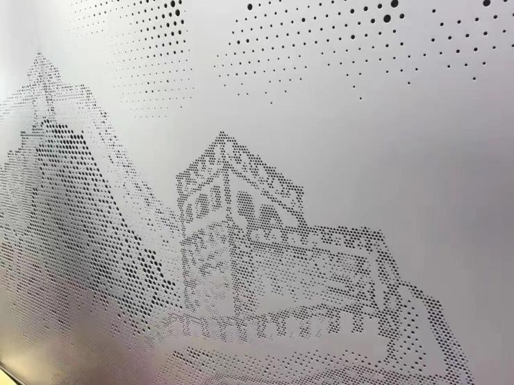 专业定做铝合金木纹色仿古铝窗花格子 木纹拼接铝窗花