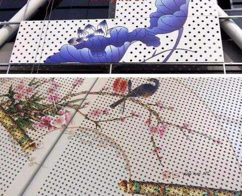 江苏度假村3D彩绘打印铝单板厂家