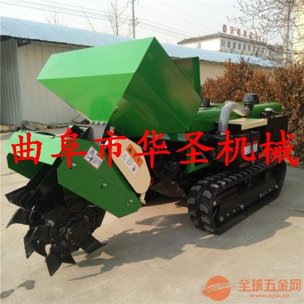新型大马力果树施肥开沟机械