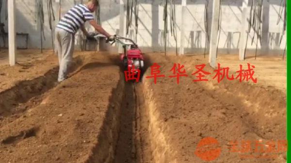 华圣牌多功能开沟培土机