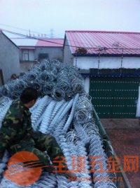 白銀噴播植草鐵絲網圖片