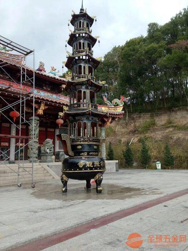 常州寶鼎定制批發寺院道觀鑄鐵寶鼎廠家直銷質量上乘